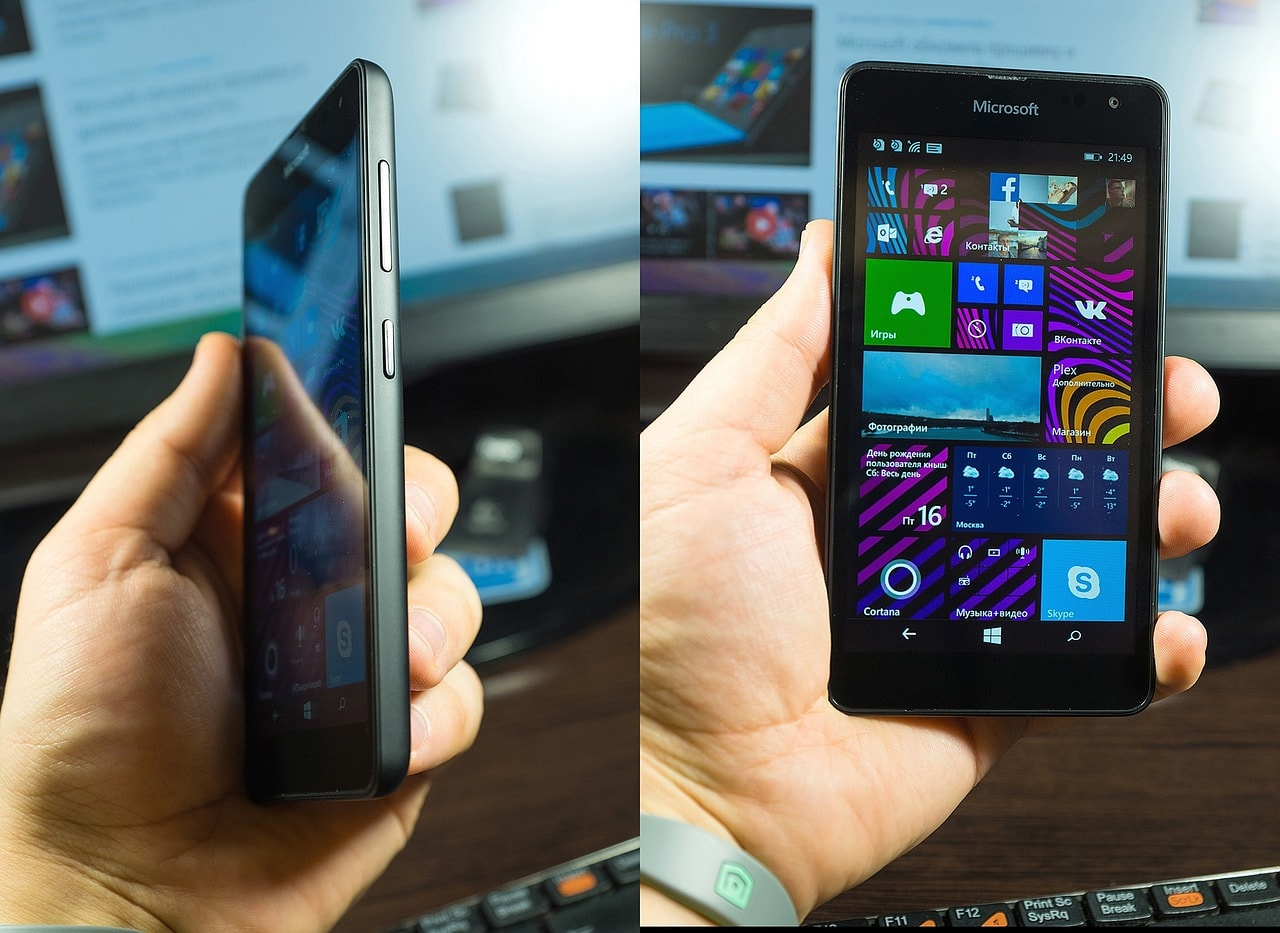 vendas de smartphones com Windows cai para 1%